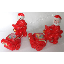 Papai Noel e boneco de neve moto brinquedo (120605)