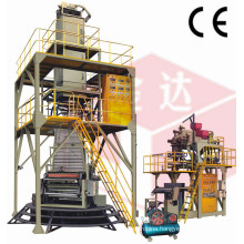 3-Layer Co-Extrusion Polyolefin Hot-Shrinkable Film Machine (POF)