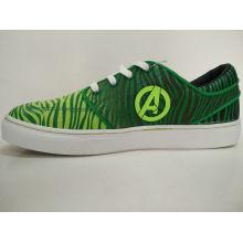 Junge Männer Gummi Grün Skate Schuhe