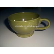 Vollfarbe Glasieren Kaffee oder Tee Tasse, Becher