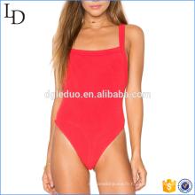 Dernière conception Femmes backless mode Spandex Sexy Body