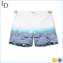 2017 Fashion men syblimated beach shorts swimming truck style