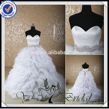 RSW526 Crystal Rhinestone Belt For China Custom Made Wedding Dresses Alibaba with ruffled organza bottom