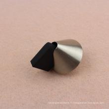 Bouchon de porte magnétique noir