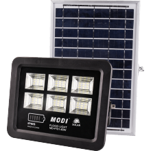 80 led solar flood lights security sensor motion