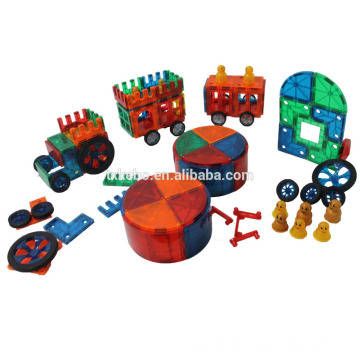 Magnetische Fliesen Clear Farben 48 Stück DX Set Spielzeug