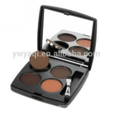 2014 Fashion Black Case with Brush Eyebrow Powder