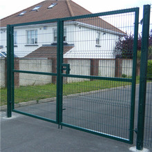powder coating single dan double fence gate