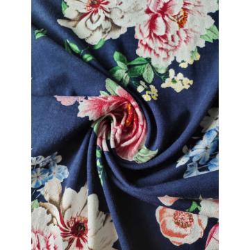 Rayon Span Print Jersey 1