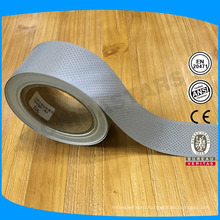 good quality high reflective effect sew on perforated reflective tape