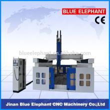 4 eixos cnc router máquina para espuma / wook