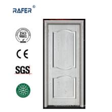 Porte en bois massif blanc chaud (RA-N037)
