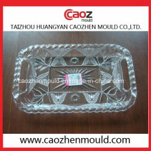 Rectangular Plastic Fruit Plate Injection Mold in China