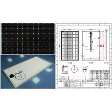 Módulo monocristalino del picovoltio del panel solar de 30V 36V 245W 250W 255W 260W con TUV ISO aprobado
