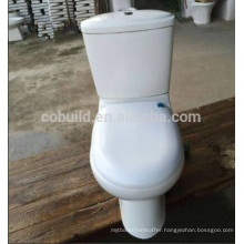 Cheap Washdown Two Piece Toilet in Large Stock