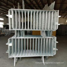 Galvanized& PVC coated Crowd Control Barrier