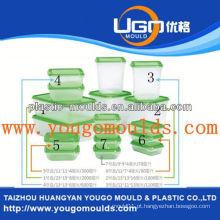 Zhejiang taizhou molho de plástico de recipiente de comida