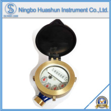 Single Jet Water Meter/Wet Type Water Meter/Brass Body Water Meter