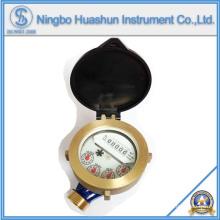 Medidor de água de jato único / Tipo de molhadela Medidor de água / medidor de água de bronze