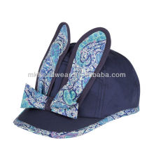 2014 Hot Wholesale Cheap Lovely Cotton Bunny Ears Baseball Cap