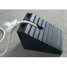 heavy-duty rubber chock