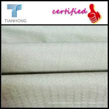 T-shirt jacquard Fabric/32 s coton Dobby avec géométrie/pièce teinture tissu de doublure Jacquard