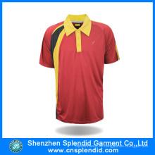 Männer Dry Fit Sport Polo Shirt Bekleidung Hersteller China