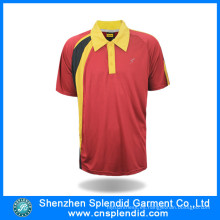 Hombres Dry Fit Sports Polo Shirt Apparel Fabricantes China