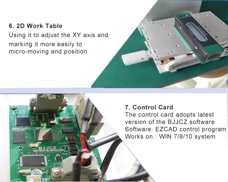 fiber laser marking details configuration