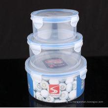Набор пластиковых пищевых продуктов 3PCS
