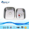 American standard submount punch bowl 25x22 in kitchen rinese sink top grade material anti rust with long time warranty