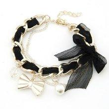 Fashion Bracelets,Lace Bowknot Bracelet Jewelry,Crystal Jewelry,New Style For Fashion Jewelry