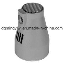 De aleación de zinc de fundición de micrófono (ZC9009) con mecanizado CNC Made by Mingyi Company