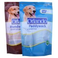 Dog Treats Stand Up Pouch dengan Zipper