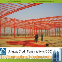 Estructuras de acero de gran tamaño prefabricadas