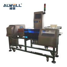 Combined checkweigher check weigher and metal detector with combination weight