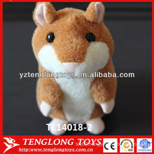 Fashion Hot Sale Talking Hamster Copy Voice Pet