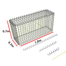 Australia 1.0x0.3x0.7m Lanscape Garden Fireplace Customized Pierre Pour Gabion