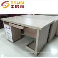 2016 modelos de tabla de madera al por mayor de la computadora de la fábrica con buen precio