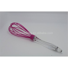 Silicone Egg Whisk with PS handle