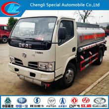 4X2 Small Oil Truck 5cbm Fuel Tanker Truck