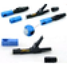 SC / PC Singlemode Durchgangs-Feldmontage-Steckverbinder, Fast / Quick Connector