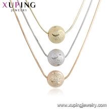 44700 xuping ancien royal trois colliers longs design avec trois pendentifs
