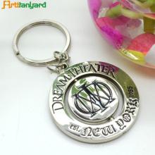Moda Customized Promoção Metal Keychain