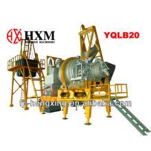 Hengxing mini asfalto móvil planta de dosificación (QLB20 / 30/40)