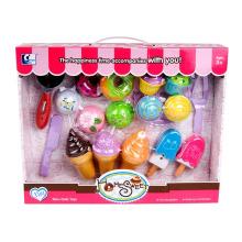 Comida fofa de cozinha Play Set para crianças