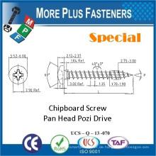Made in Taiwan Spezielle Custom Double Flat Head Torx Drive Typ 17 Schraube Spanplatte Schraube
