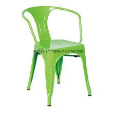 Cadeira de Tolix braço de cadeira de ferro