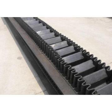 Inclinaison de la bande de conveyeur de mur latéral