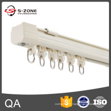 GD28 corner curtain track for balcony window